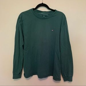 TOMMY HILFIGER Forest Green Classic Long Sleeve